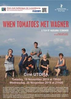 """Cinema """"When tomatoes met Wagner"""""""